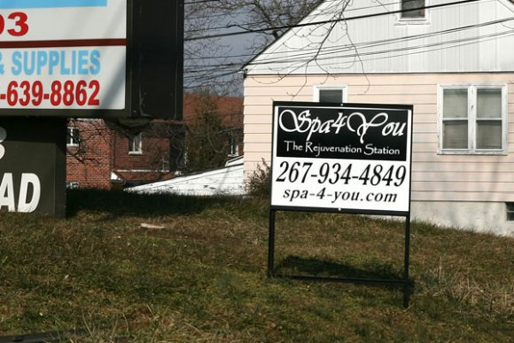 Spa 4 You Lawn Sign
